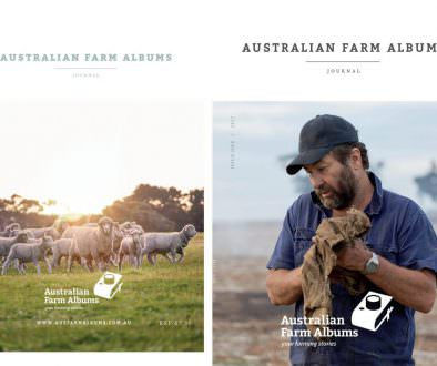 Australian Farm Albums Journal cover