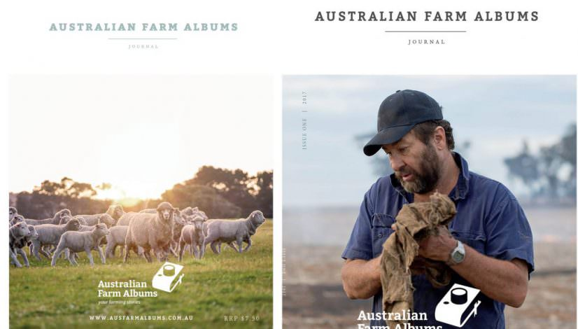 Australian Farm Albums Journal cover