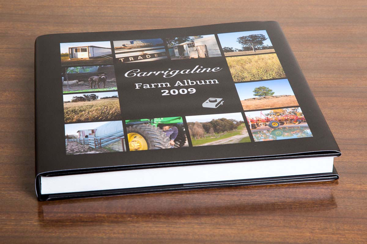 One farm visit 50 album pages Large 28cm x 28 cm photobook