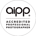 AIPP Accredited professional photographer logo